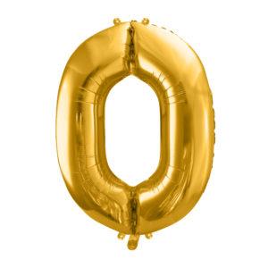 Zahlenballon 0