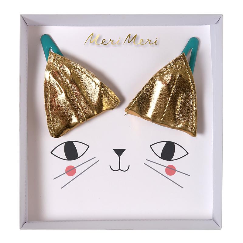 Katzen Ohren Haarspangen
