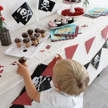 piratenparty girlande