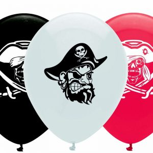 Piratenparty Ballons