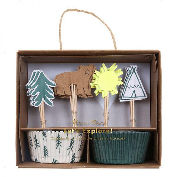 Camping Cupcake Set