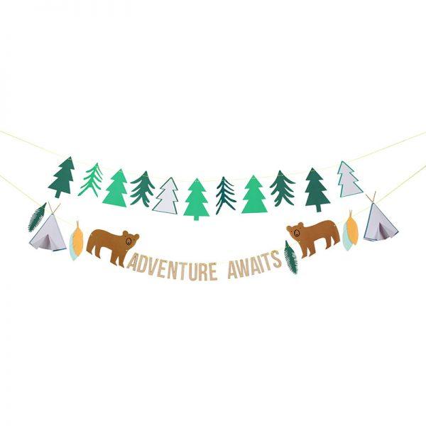 Camping Girlande