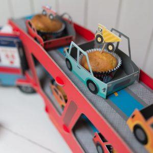 Bagger Cupcake Set