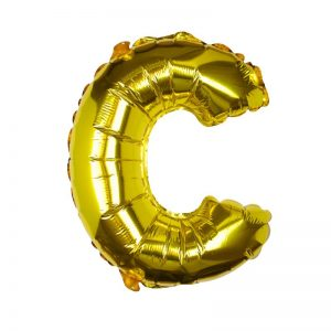 Buchstaben Ballon C
