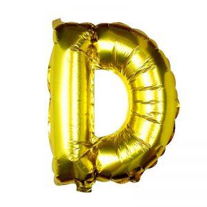 Buchstaben Ballon D