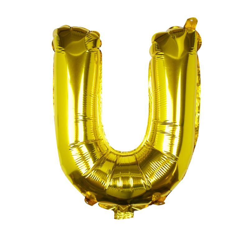 Buchstaben Ballon U