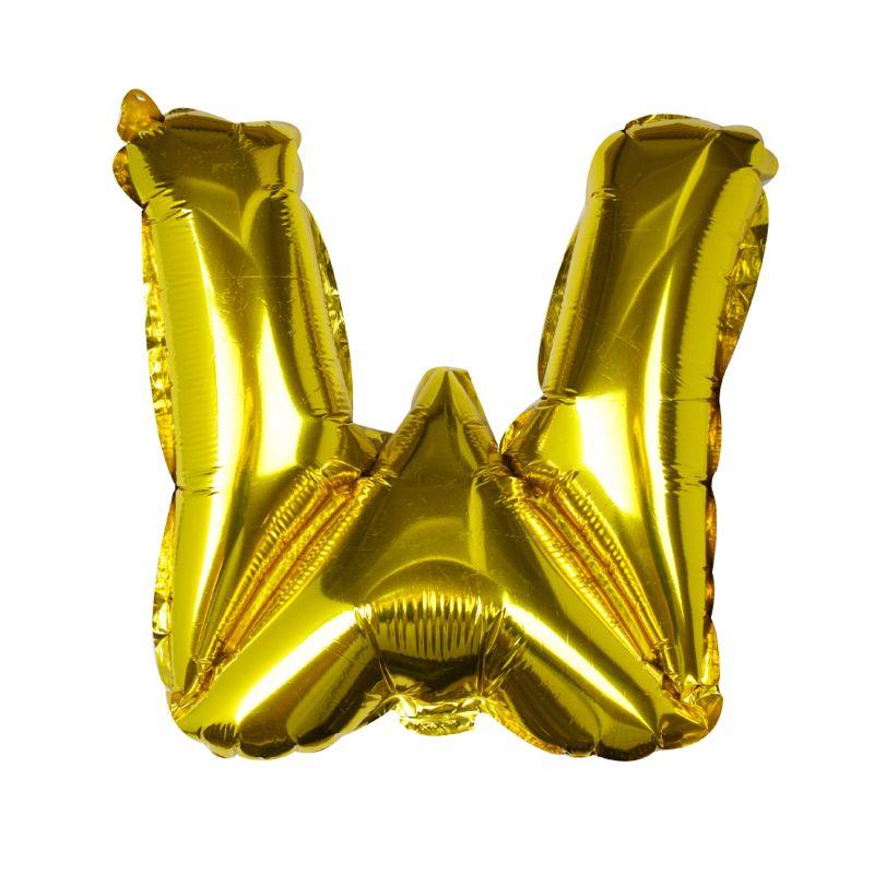 Buchstaben Ballon W