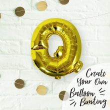 Buchstaben Ballon Q
