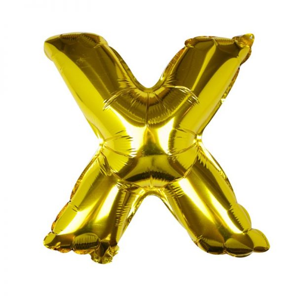 Buchstaben Ballon X