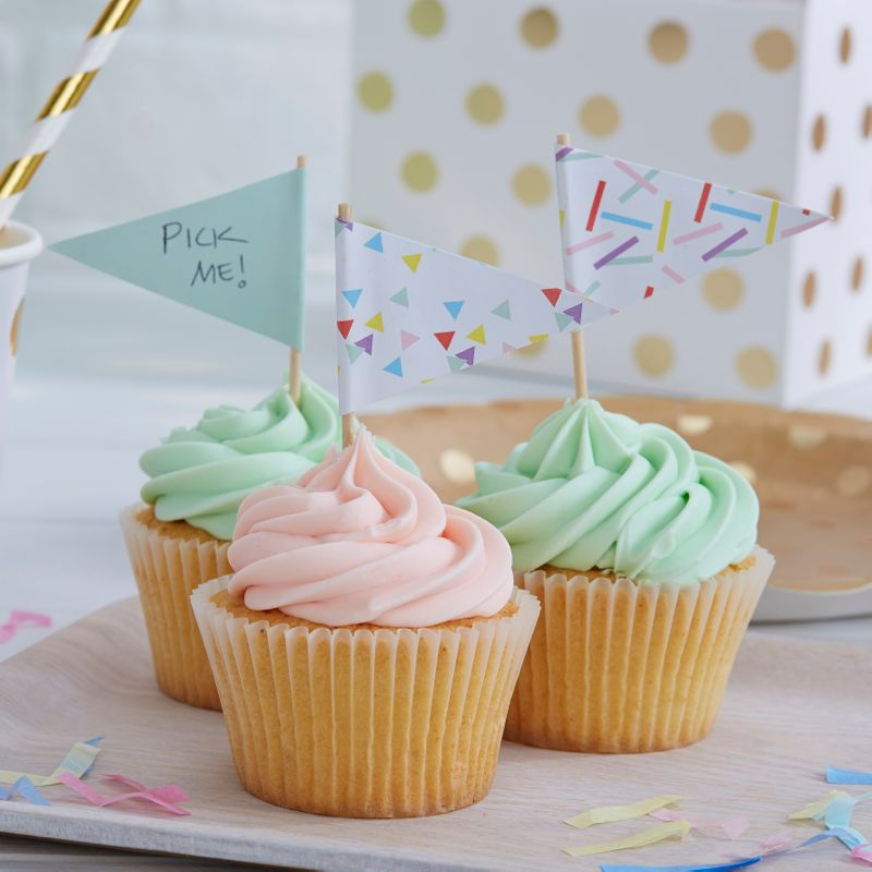 Cupcake Topper mint