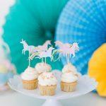 Einhorn Cupcake Set