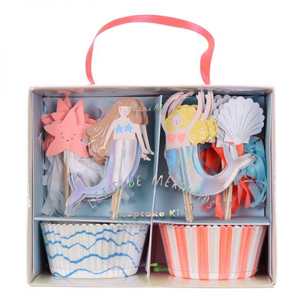 Meerjungfrau Cupcake Set