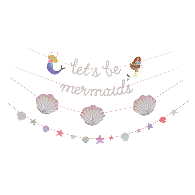 Meerjungfrau Girlande