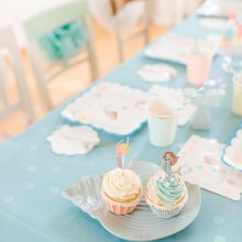 Meerjungfrau Cupcake
