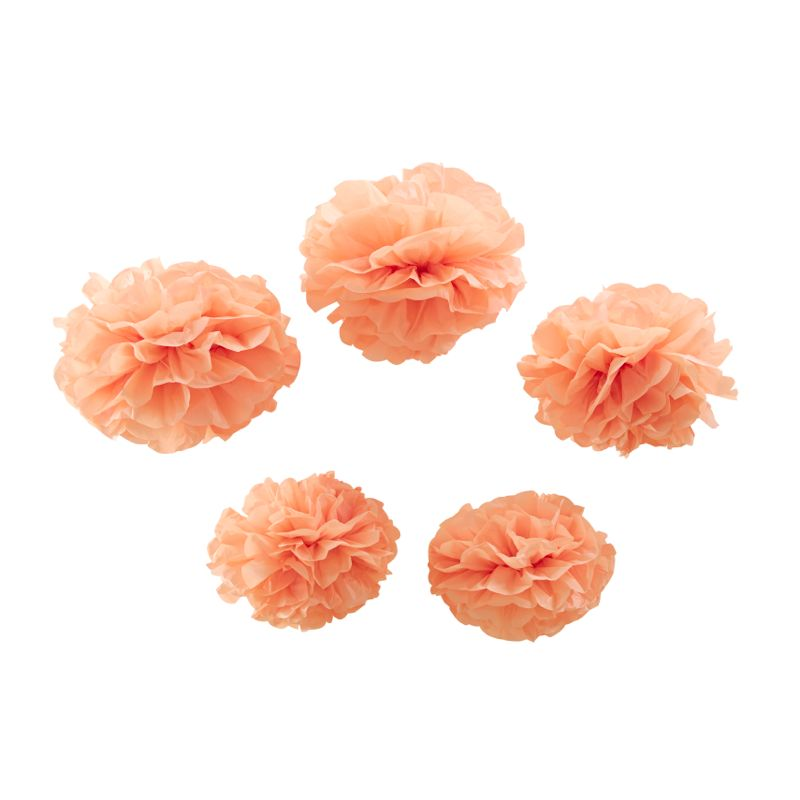 Pom Poms apricot