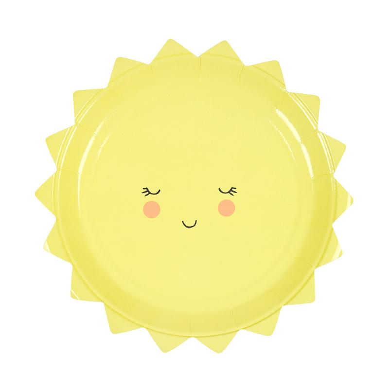 Teller Sonne