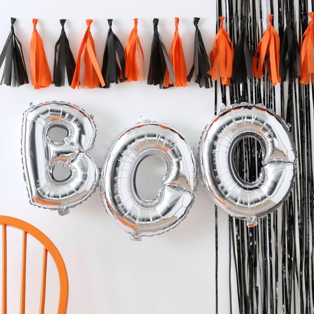Halloween girlande orange und schwarz partymoments - Halloween girlande ...