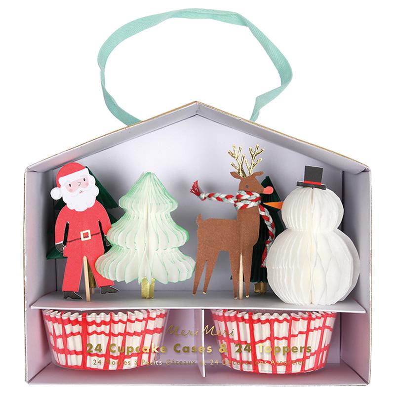 Cupcakeset Weihnachten