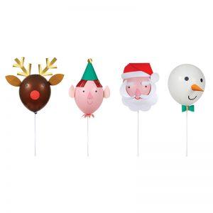 Luftballon Weihnachten