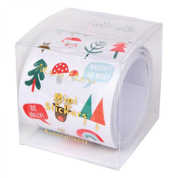 Stickerrolle Weihnachten