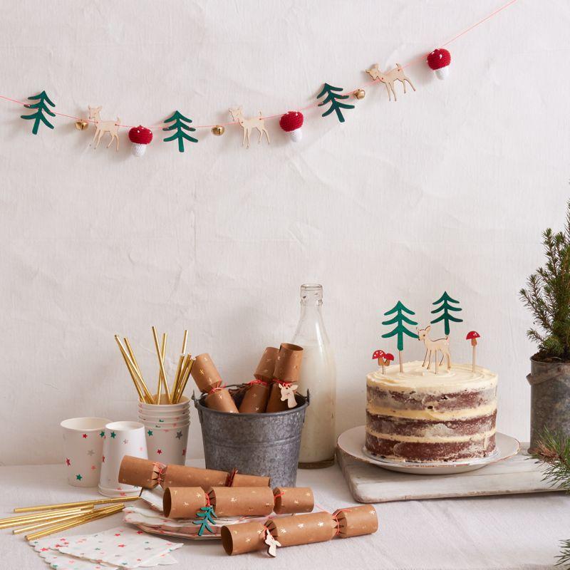sternen teller weihnachten im wald meri meri partymoments. Black Bedroom Furniture Sets. Home Design Ideas
