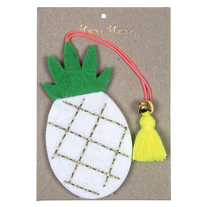 Weihnachtsdekoration Ananas