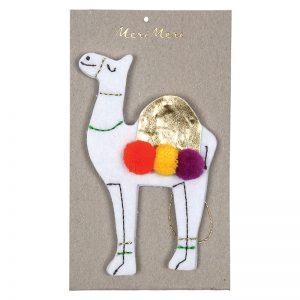 Weihnachtsdekoration Kamel