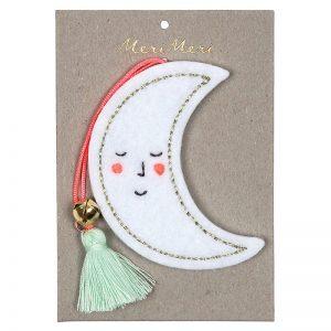 Weihnachtsdekoration Mond