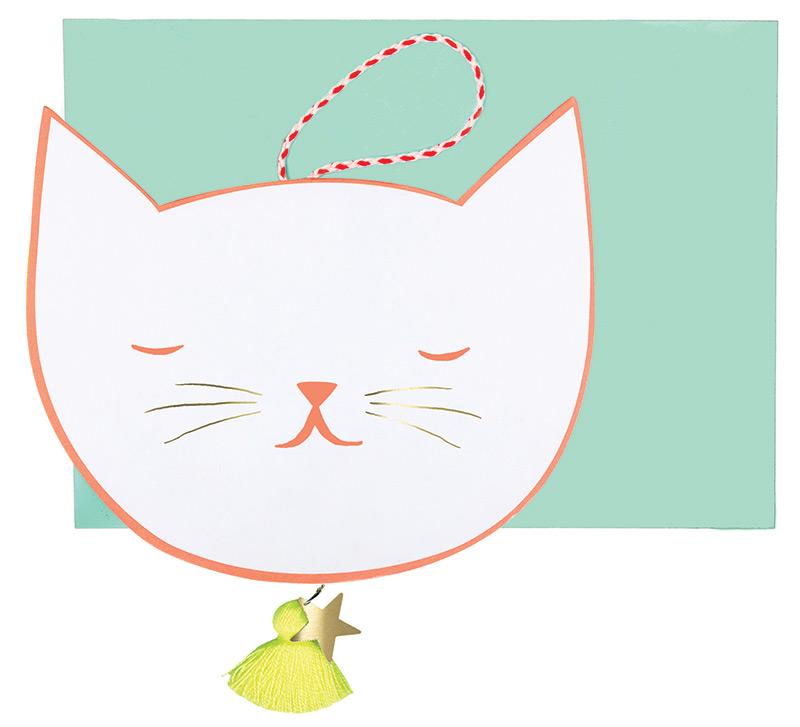 Katzen Glückwunschkarte