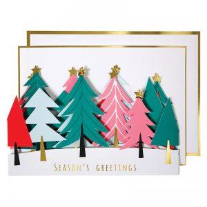 Tannenbaum Glückwunschkarte