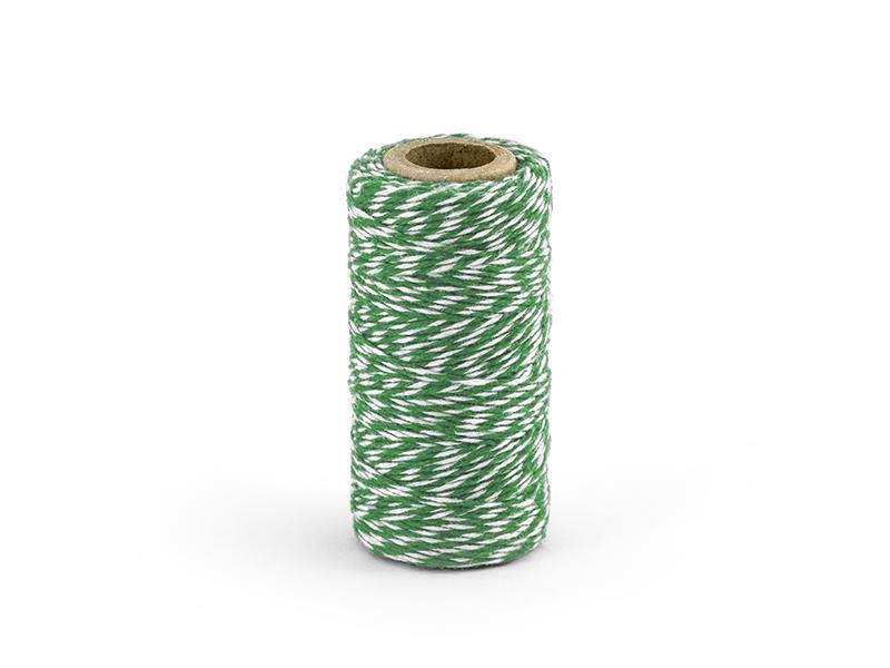 Garn grün