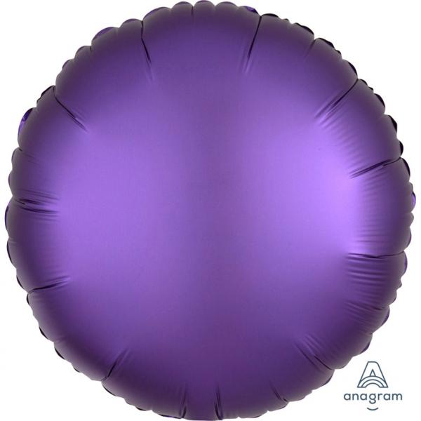 Folienballon Kreis ultraviolett