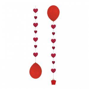 Herz Ballonanhänger