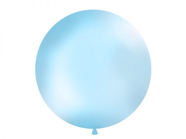 Riesenballon hellblau matt