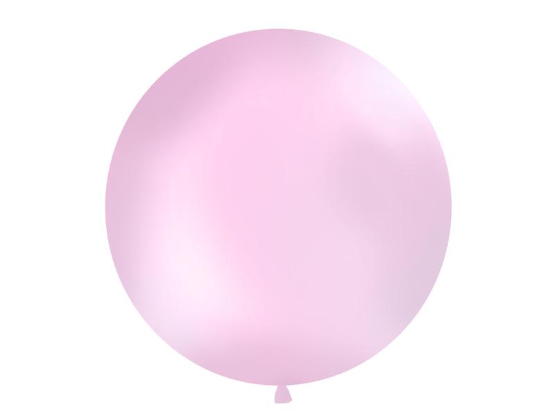 Riesenballon rosa matt