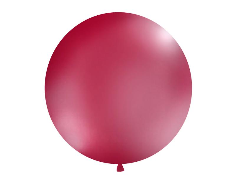 Riesenballon weinrot matt