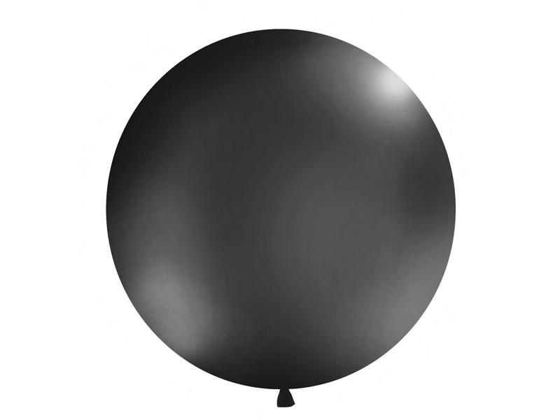 Riesenballon schwarz matt