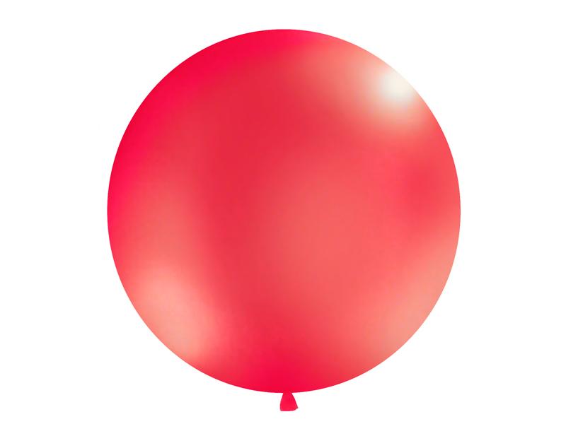 Riesenballon rot matt