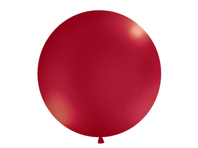 Riesenballon weinrot