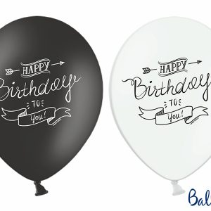 Ballons Happy Birthday