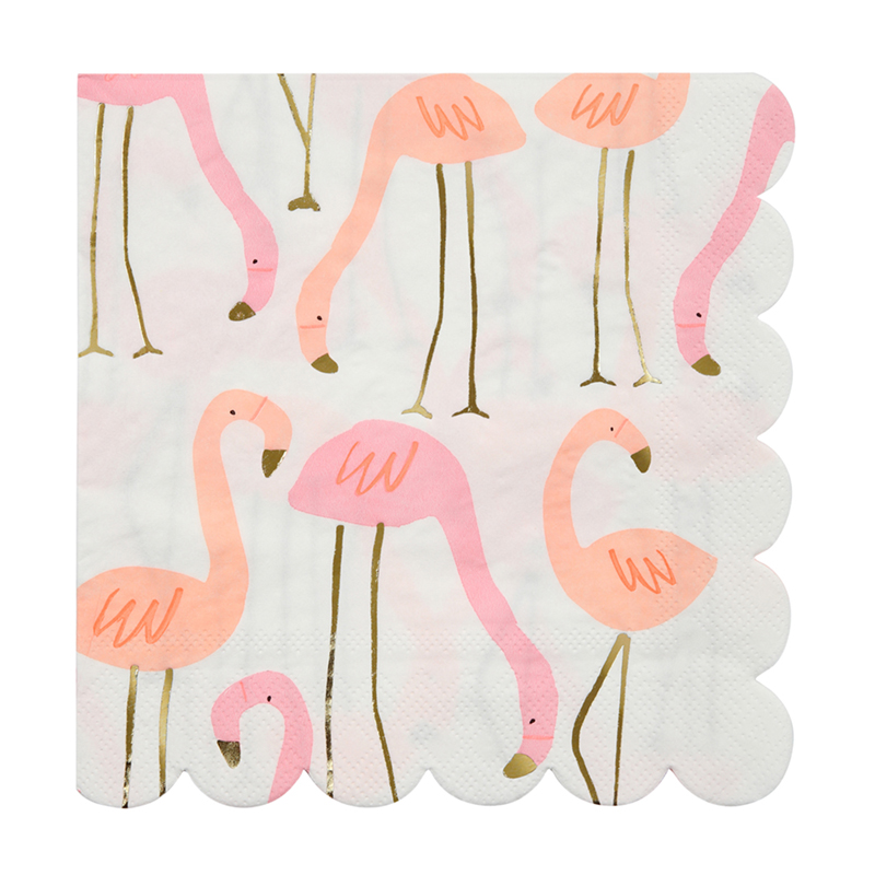 Flamingo Servietten