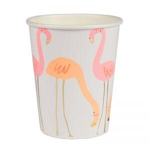 Flamingo Becher