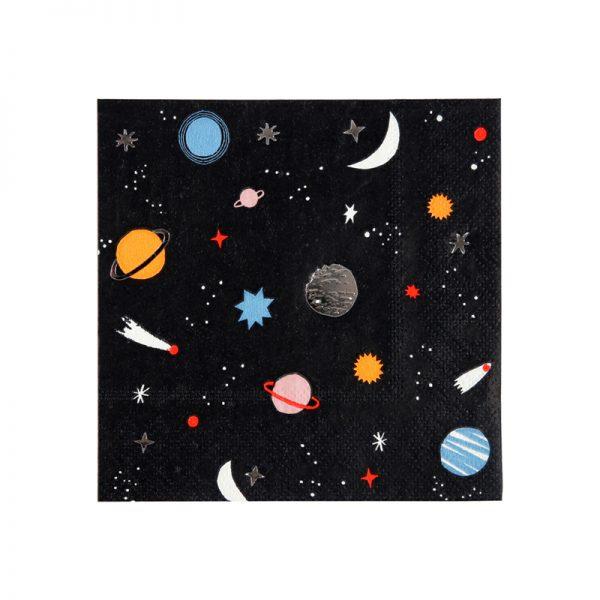 Weltraum Servietten