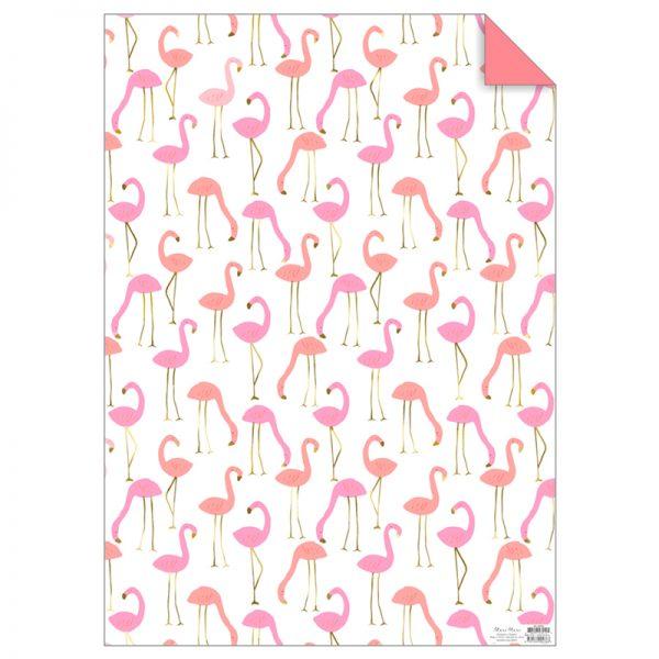 Flamingo Geschenkpapier