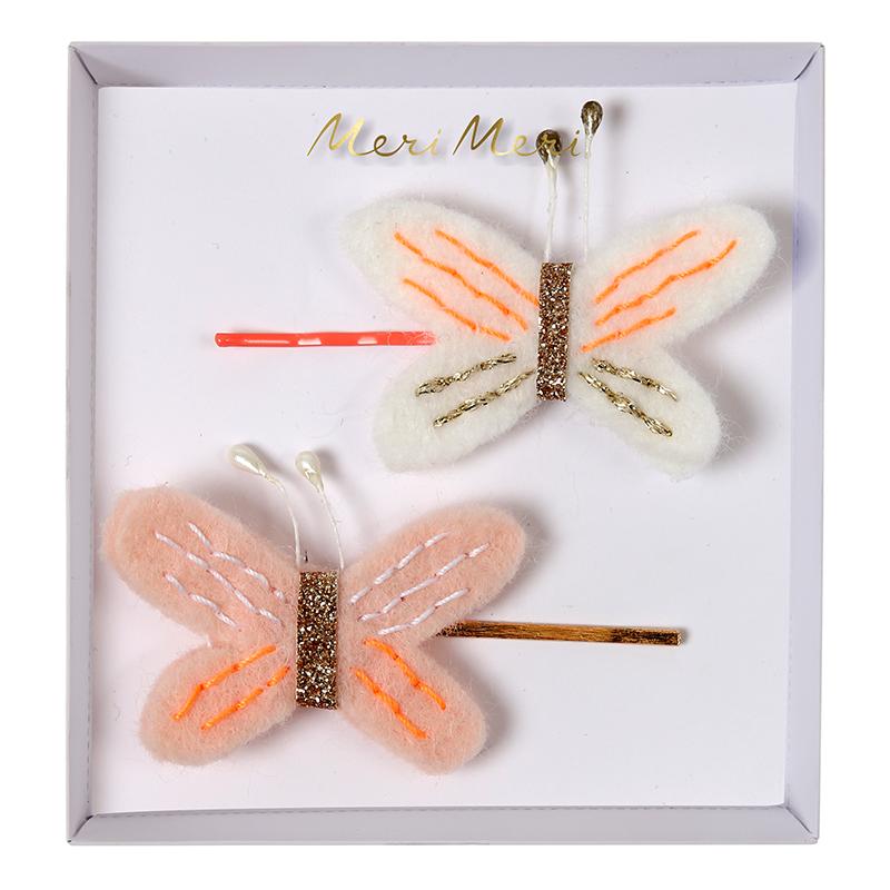 Schmetterling Haarspangen