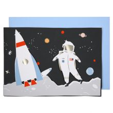 Weltraum Glückwunschkarte