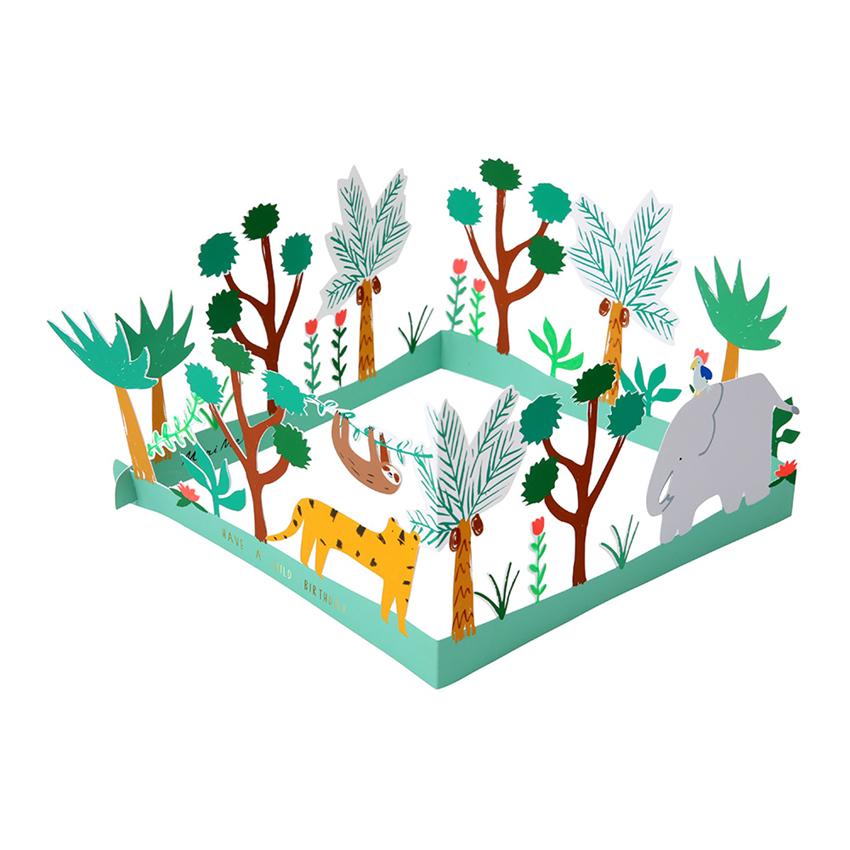 Dschungel Karte