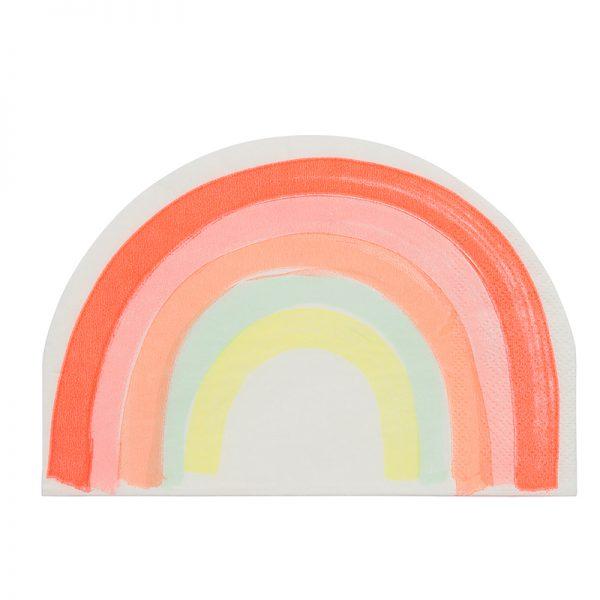 Servietten Regenbogen