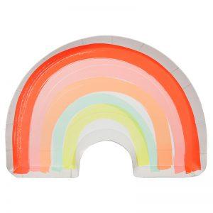 Teller Regenbogen