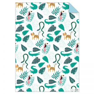 Set Dschungel Geschenkpapier
